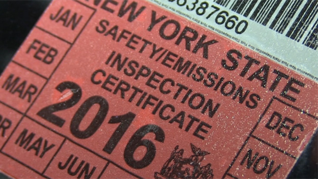 NY Inspection Sticker