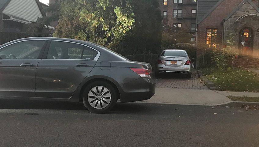 Blocked Driveway