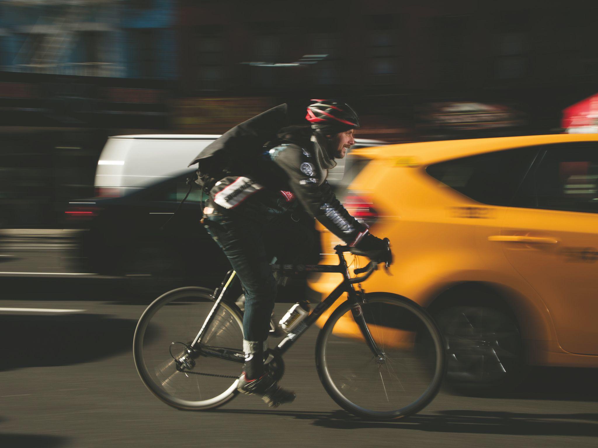 Beware around Bike Lanes